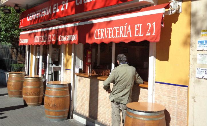 Cervecería «El 21»