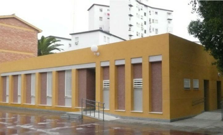 Fachada del Colegio Aníbal González