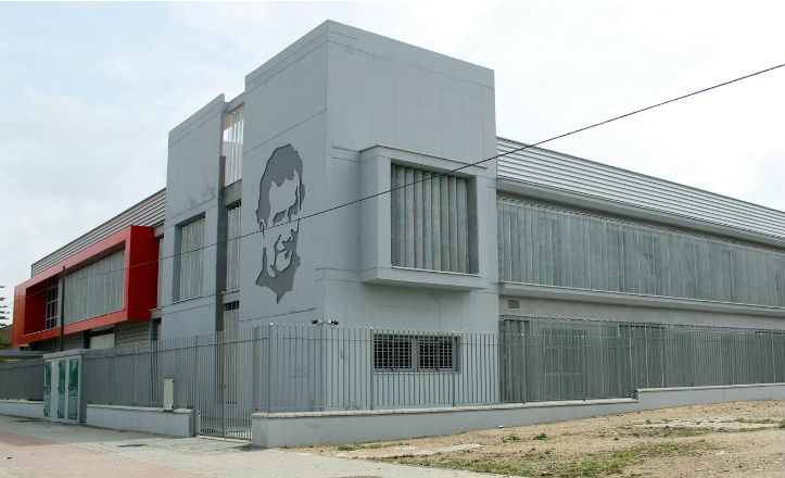 Fachada del Centro Social y de Promoción Don Bosco