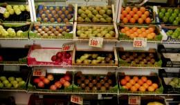 Frutería Caro, en el mercado Cruz Campo