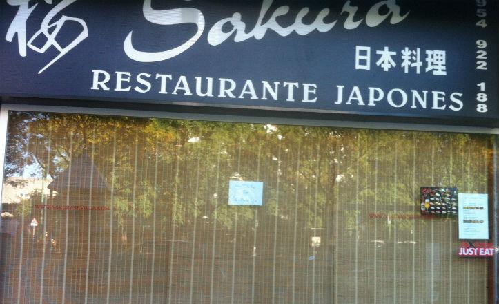 El restaurante japonés Sakura cerrado por huelga