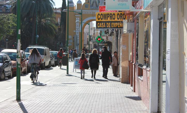 La mayoría de los comercios han abierto sus puertas en La Macarena