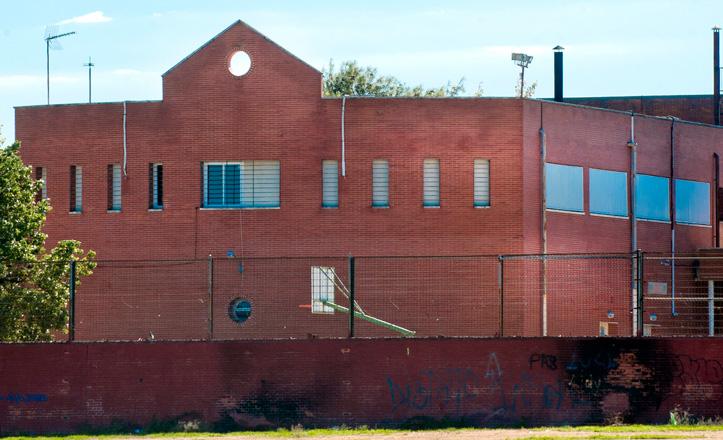 Imagen de la fachada del IES Torreblanca