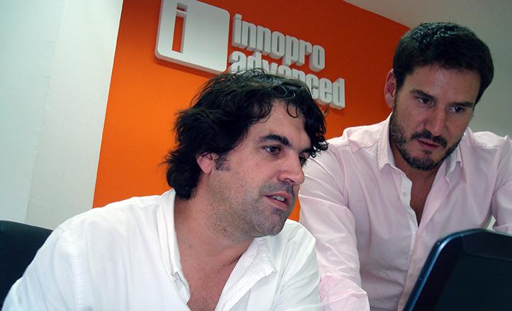 Pablo Hidalgo y José Castro en Innopro.