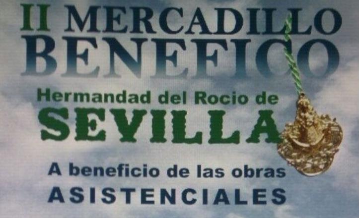 Mercadillo solidario de la Hermandad del Rocío de Sevilla