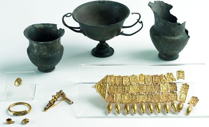Una de las piezas del Museo Arqueológico, el Tesoro de Mairena