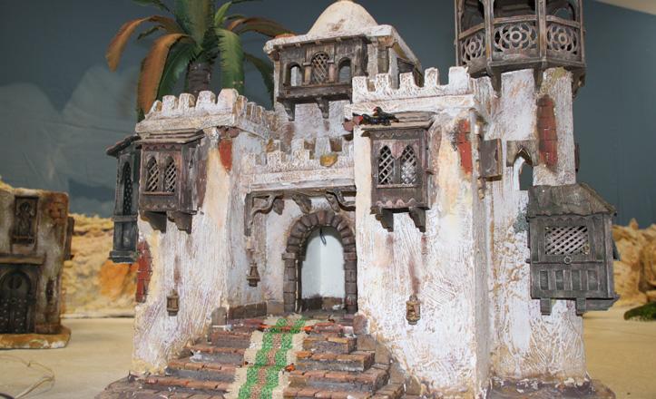 La casa de Herodes hecha a mano por Jesús Ors