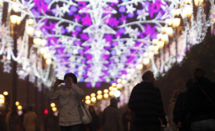 Luces de navidad 2012