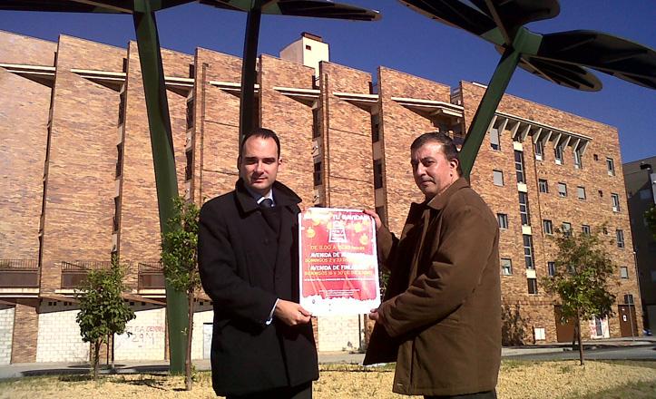 Rafael Belmonte y José Manuel Mira en la presentación del cartel