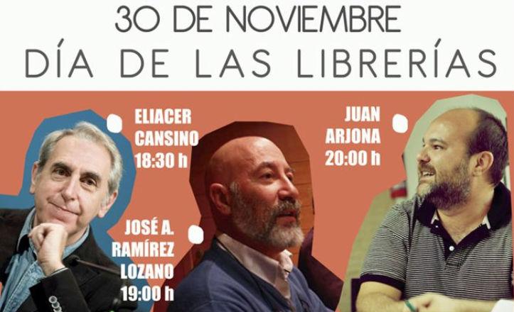 Encuentro con autores en la librería Rayuela
