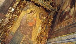 La imagen restaurada de la virgen de Roca-Amador