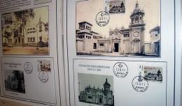 Un sello del pabellón de Cádiz de la Exposición de 1929