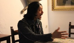 El cantaor japonés Taka en la Peña Flamenca Torres Macarena