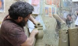 Taller de alfarería y cerámica en Triana