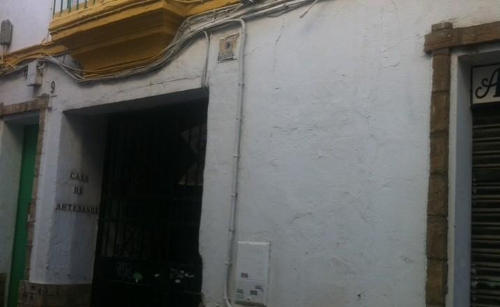 Fachada casa de los artesanos