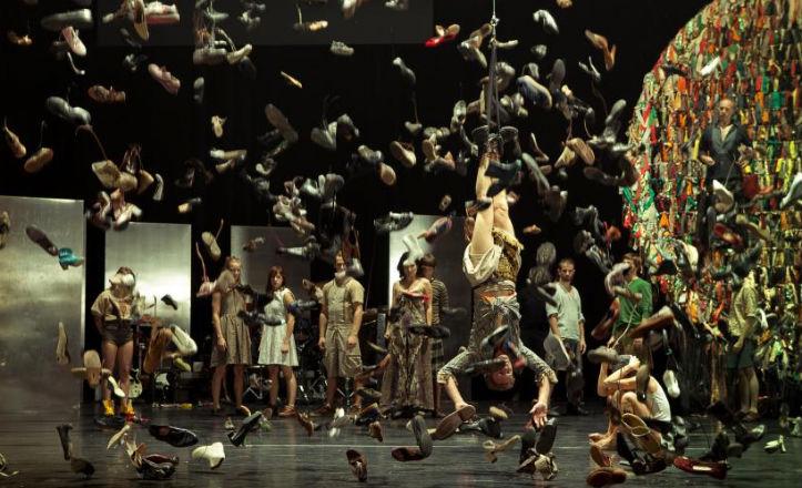 Espectáculo de danza y rock en el Teatro Central