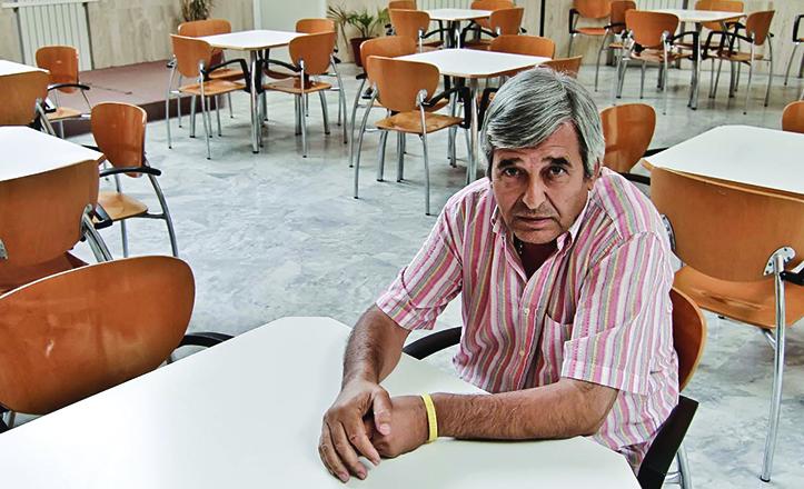 Ángel Bautista es un luchador por y para el barrio de Triana