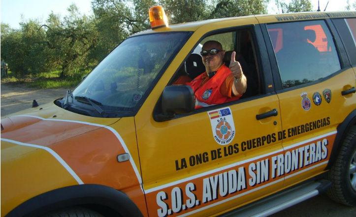 Voluntario de S.O.S Ayudas sin fronteras