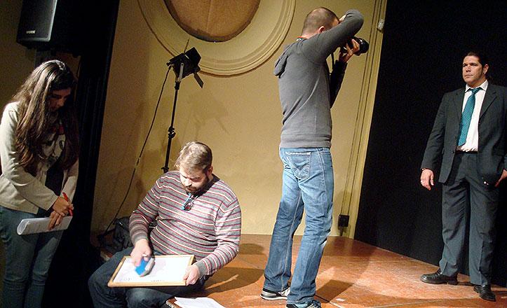 Un momento del casting en el Centro Cívico Las Sirenas