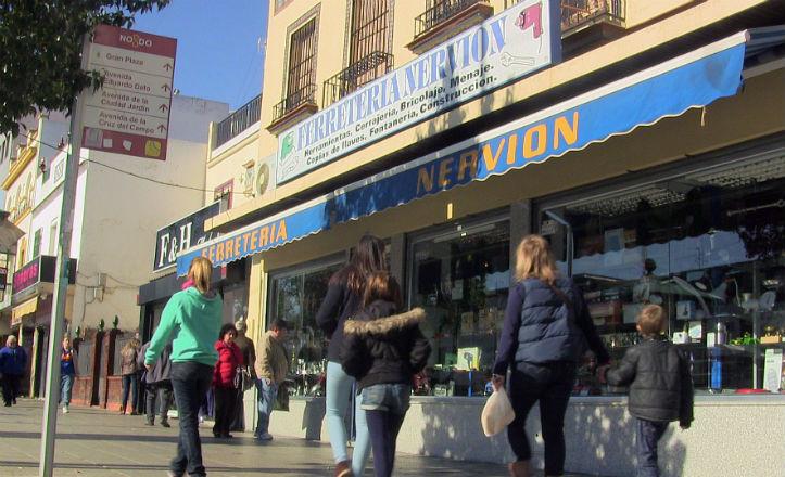 Comercios de la calle Marqués de Pickman