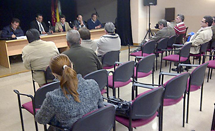 El Consejo de Participación Ciudadana del Distrito Norte presenta el informe de 2012. El delegado de Participación Ciudadana, Beltrán Pérez, preside la cita.