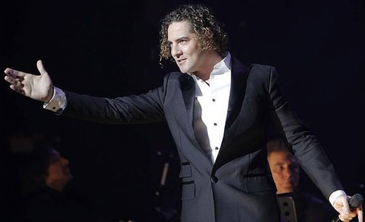 David Bisbal, en concierto
