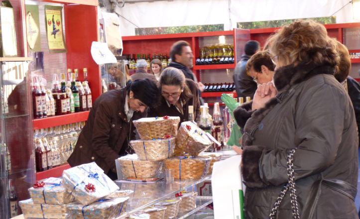 Feria gastronómica en la Diputación