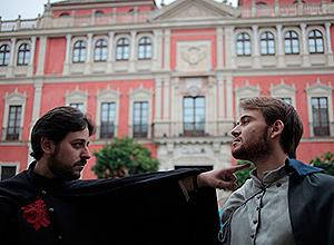 Dos actores interpretan en Don Juan