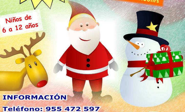 Cartel de la escuela urbana de Navidad, distrito Sur
