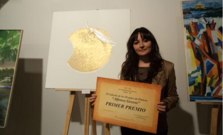 Elena Lechuga, ganadora del primer premio