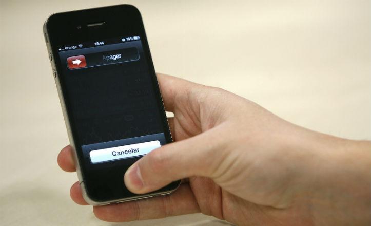 Móvil modelo Iphone