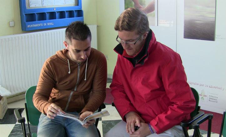 Daniel Lavado y Francisco Javier Portillo, repasan algunas ideas que van a llevar a cabo