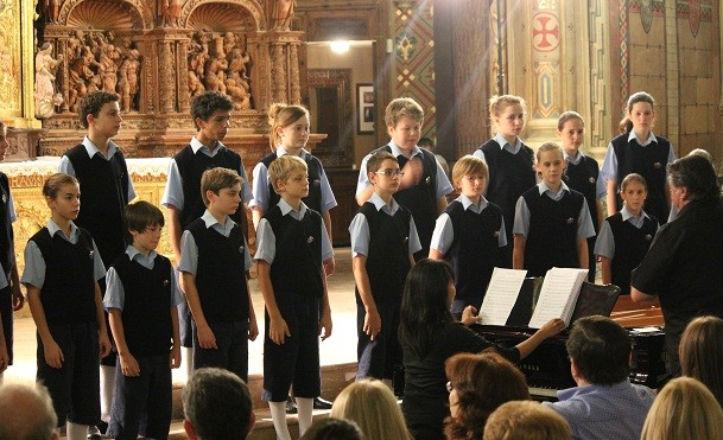 Concierto solidario de Los chicos del coro