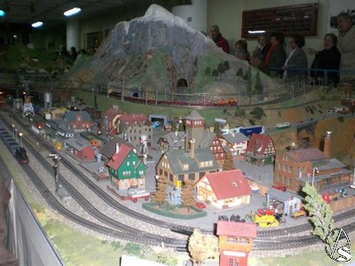 Miniaturas de trenes en Santa Justa