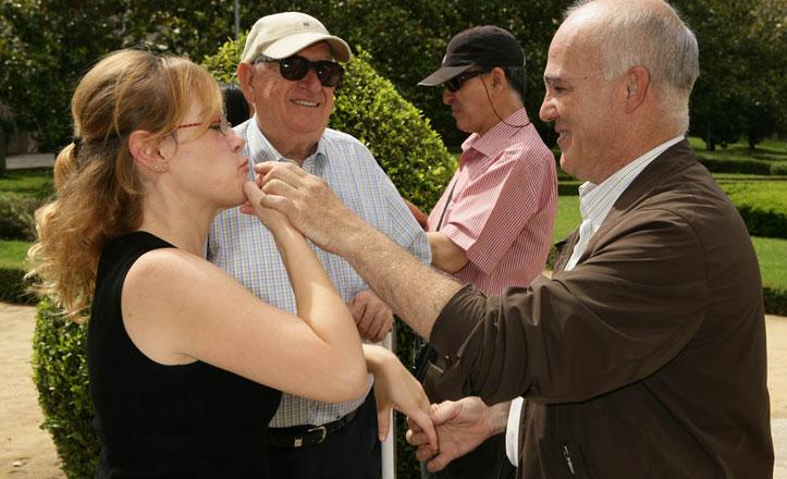 La ONCE celebra Santa Lucía, la patrona de los ciegos