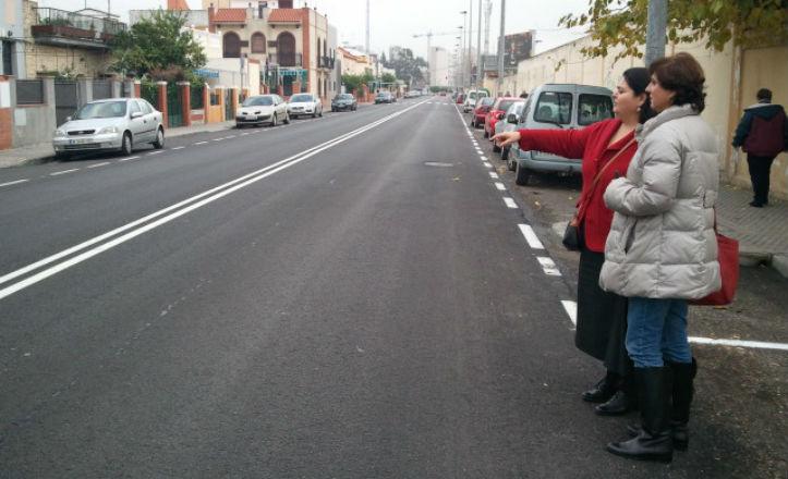 Reafaltado de la avenida Francisco Buendía