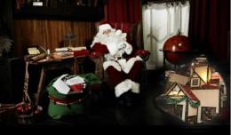 Santa Claus en su casa de Nervión Plaza