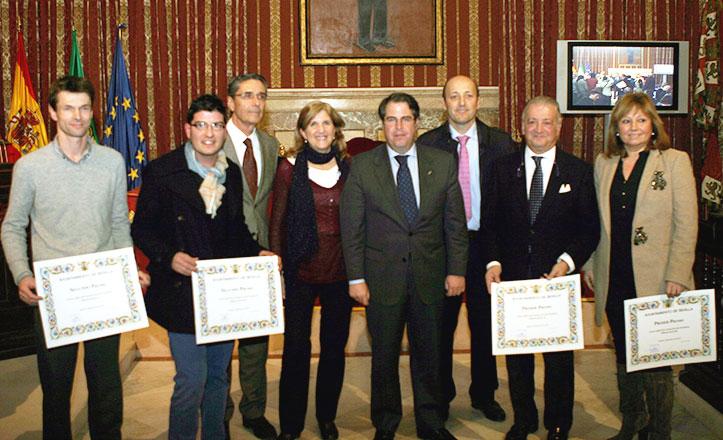 Gregorio Serrano, Amidea Navarro y los premiados