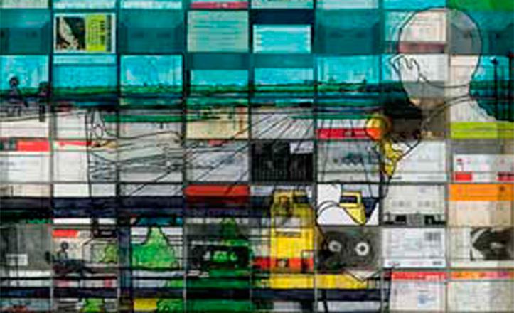Una de las obras de Irma Marcos, participante en Art