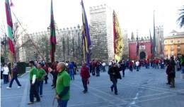 Fiesta del día de León en Sevilla