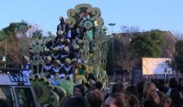 Cabalgata de Reyes Magos en San Pablo-Santa Justa