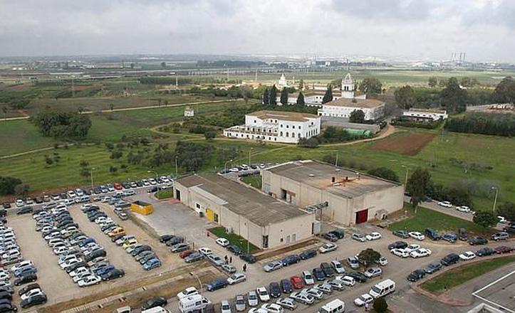 Imagen aérea del Cortijo del Cuarto