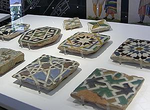 Detalle de azulejos del mudéjar