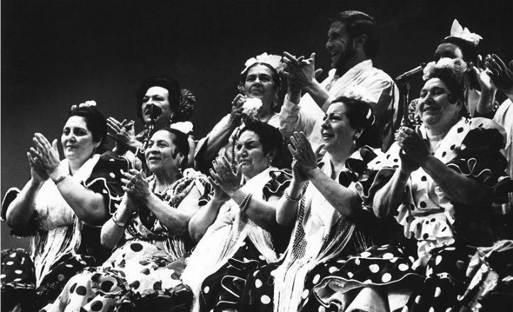 Una de las fotografías del libro Flamenco, pasión, desgarro y duende