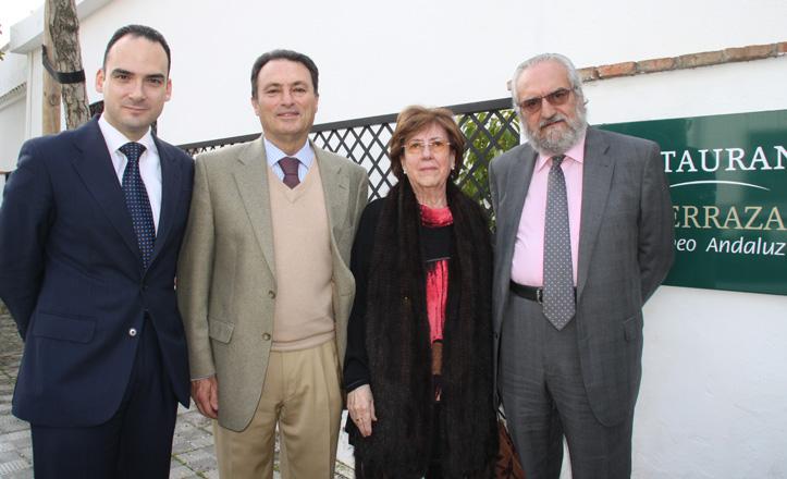 Rafael Belmonte, Juan Sabaté, Gracia Laureano y Juan Luis Manfredi