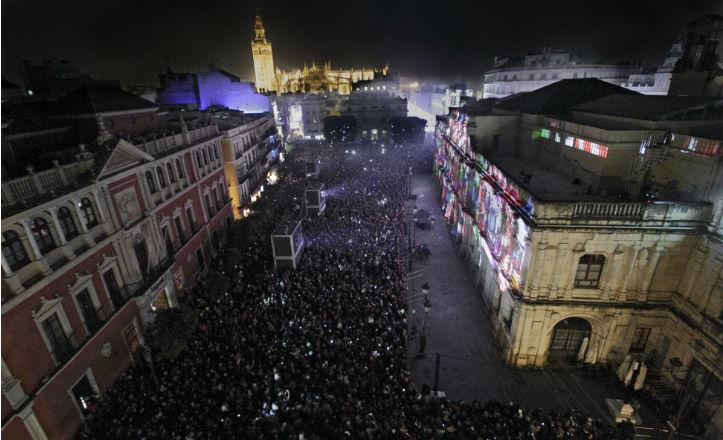 El mapping de Navidad, nominado a mejor evento cultural europeo