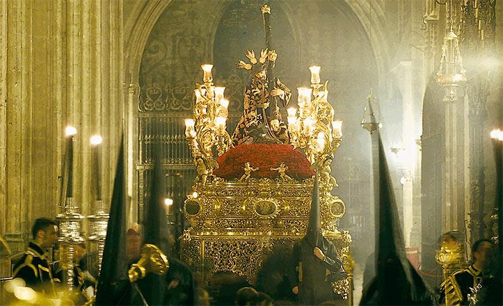 Detalle del cartel Círculo de Pasión.