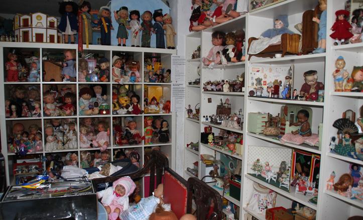 Parte de la colección de juguetes de Olivia