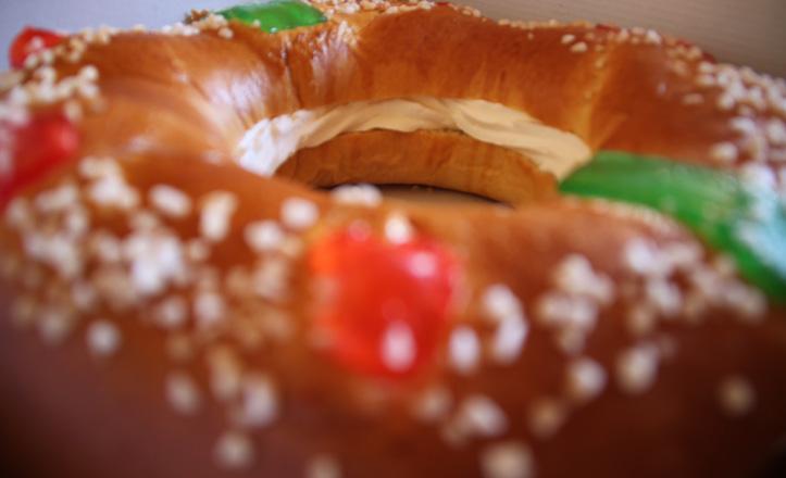 Roscón de Reyes de la pastelería Serga