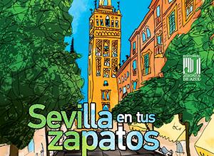 Portada del libro Sevilla en tus zapatos